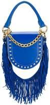 Sacai studded fringed strap shoulder bag