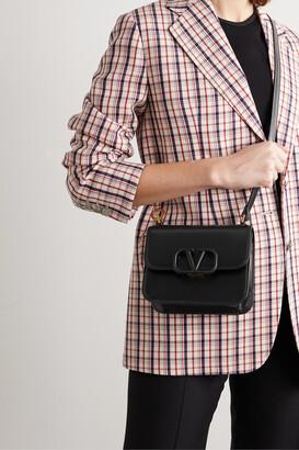 Valentino Garavani Vsling Small Leather Shoulder Bag - Black