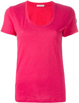 Moncler Scollo T-shirt - women - Cotton - XS