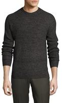 Ben Sherman Wool Crewneck Ribbed Sweater