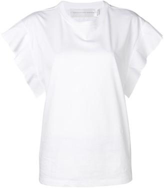 Victoria Victoria Beckham flared sleeve T-shirt