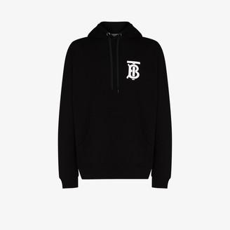 Burberry Landon monogram print hoodie