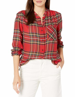 Pendleton Women's Helena Mandarin Collar Shirt