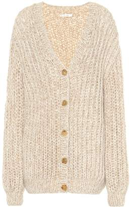 The Row Seilde cashmere and silk cardigan