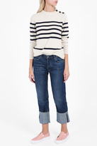 MiH Jeans The Phoebe Folded Cuff Jeans