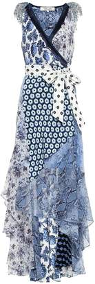 Diane von Furstenberg Ava printed silk dress