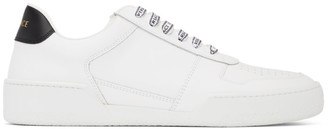 Versace White and Black Ilus Sneakers