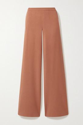 Loro Piana Canary Cashmere Straight-leg Pants - Blush