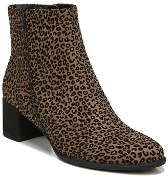 Soul Naturalizer Richy Leopard Printed Block Heel Boot - Wide Width Available