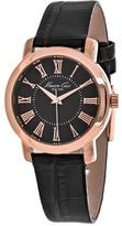Kenneth Cole Classic 10022551 Women's Round Brown Leather Watch