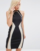 Forever Unique Devi Midi Dress With Chain Mail Detil