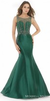 Morrell Maxie Glamorous Beaded V-back Mikado Evening Dress