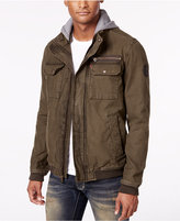 Levi's Men's Twill Hooded Bomber Jacket