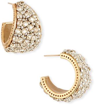 Mignonne Gavigan Kaya Crystal Huggie Earrings