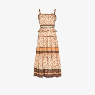 Ulla Johnson Cecilie printed cotton midi dress