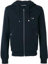 Dolce & Gabbana drawstring zip hoodie - men - Cotton - 48