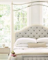 Bernhardt Natalie King Tufted Canopy Bed