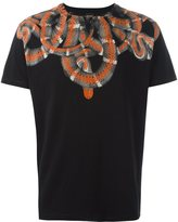 Marcelo Burlon County of Milan snake print T-shirt - men - Cotton - XS
