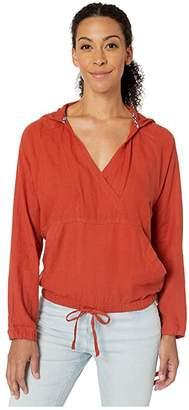 Prana Bowry Top (Dry Chili) Women's Sweater