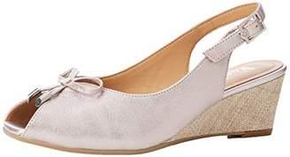 Van Dal Women's Oxley Sling Back Heels, Pink (Bamboo 820), 8 (42 EU)