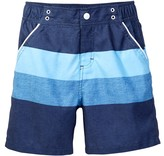 Andy & Evan Striped Colorbock Swim Trunk (Toddler & Little Boys)