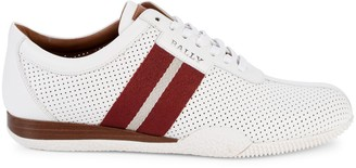 Bally Frenz Perforated Leather Platform Sneakers