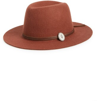 Frye Cadet Dented Crown Wool Felt Hat