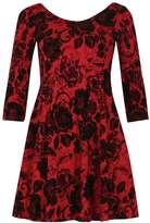 Izabel London **Izabel London Burgundy Dress