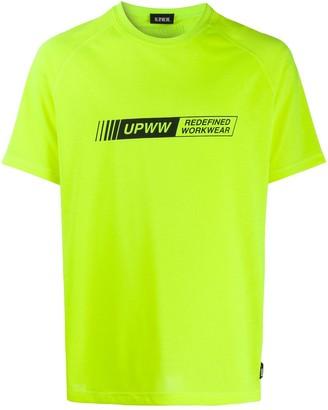 U.P.W.W. logo print T-shirt