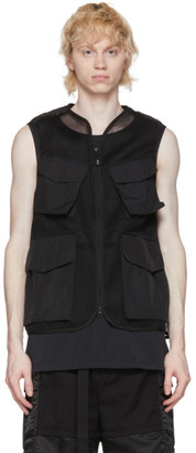 Snow Peak Black Mesh Vest