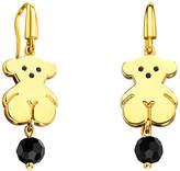 Tous Sweet Dolls 18K Over Silver Drop Earrings