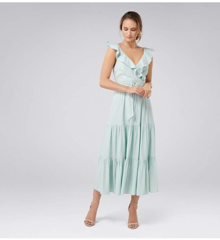 f443498573 Green Tiered Skirt Dresses - ShopStyle Canada
