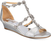 Badgley Mischka Terry II Wedge Evening Sandals