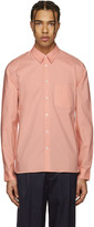 Acne Studios Pink York Stretch Shirt