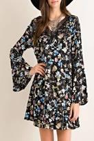 Entro Floral Lace Dress