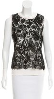 Christian Dior Lace Sleeveless Top