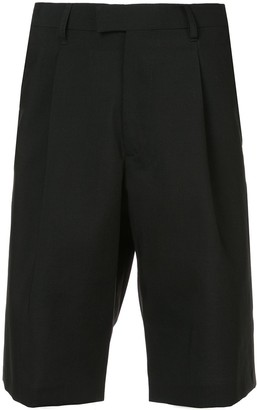 Raf Simons Logo Patch Bermuda Shorts