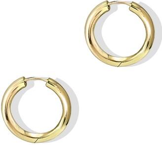Argentovivo Hinged Endless Hoop Earrings