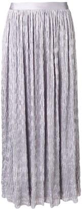 Giorgio Armani Crinkle Maxi Skirt