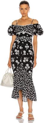 Alice McCall Izabella Midi Dress in Black | FWRD