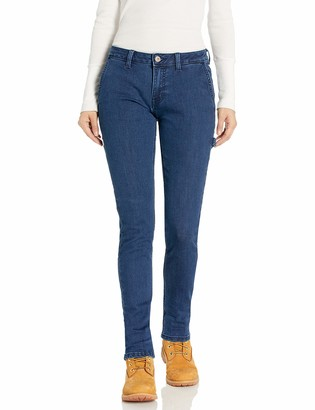 Dickies Women's Slim Straight Stretch Denim Carpenter Pant