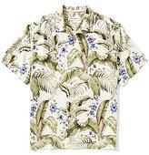 Tommy Bahama Short-Sleeve Blumenau Floral Printed Woven Silk Shirt
