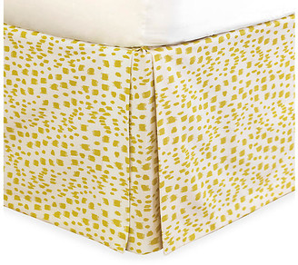 Tropical Dreams Bed Skirt - Yellow - Celerie Kemble - twin