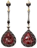 Sevan Biçakci Women's Rose Intaglio Triple-Drop Earrings