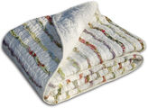 GREENLAND HOME FASHIONS Greenland Home Fashions Bella Ruffle Quilted Cotton Throw