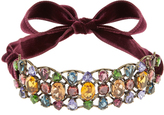 Lanvin Ginger crystal-embellished choker