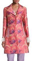 Etro Floral Jacquard Coat