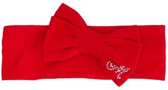 MonnaLisa Embellished Bow Head Band