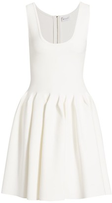 Milly Engineered Pleated Dress