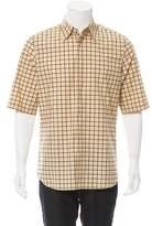 Marni Windowpane Button-Up Shirt